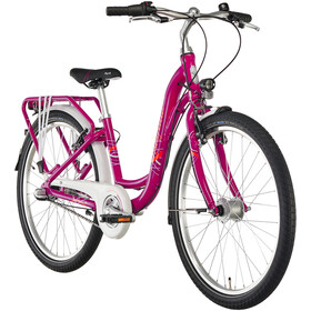 "Puky Skyride Light 24"" Bicicletta 3 marce Ragazza, berry"
